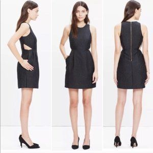 Madewell Nightfall Jacquard Cutout Dress / 4 / NWT